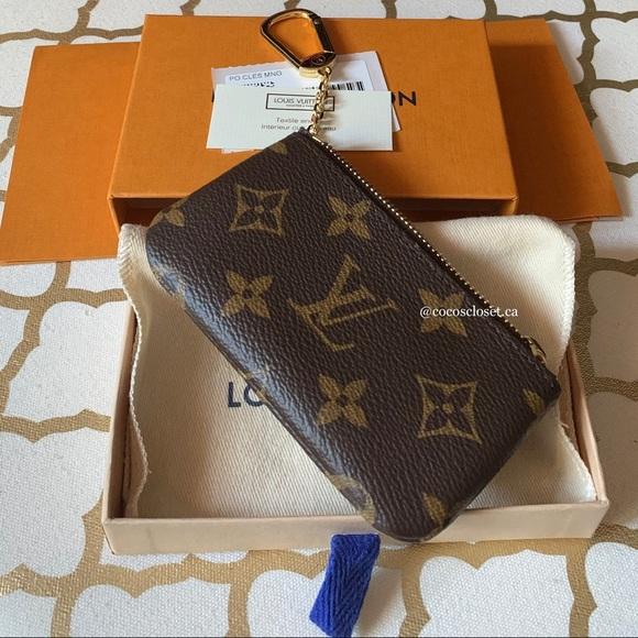 Louis Vuitton Monogram Key Cle Pouch